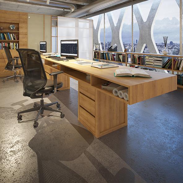 pracovný písací stôl